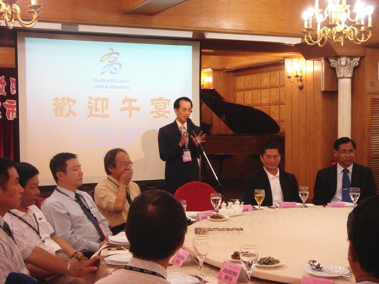 台灣省旅行公會蕭博仁理事長率各縣市公會理事長