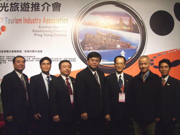 80人由總召集人林富男擔任總團長率隊赴浙江省-杭州