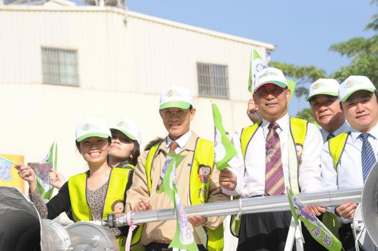 大高雄觀光大發展、全力支持陳菊當選市長